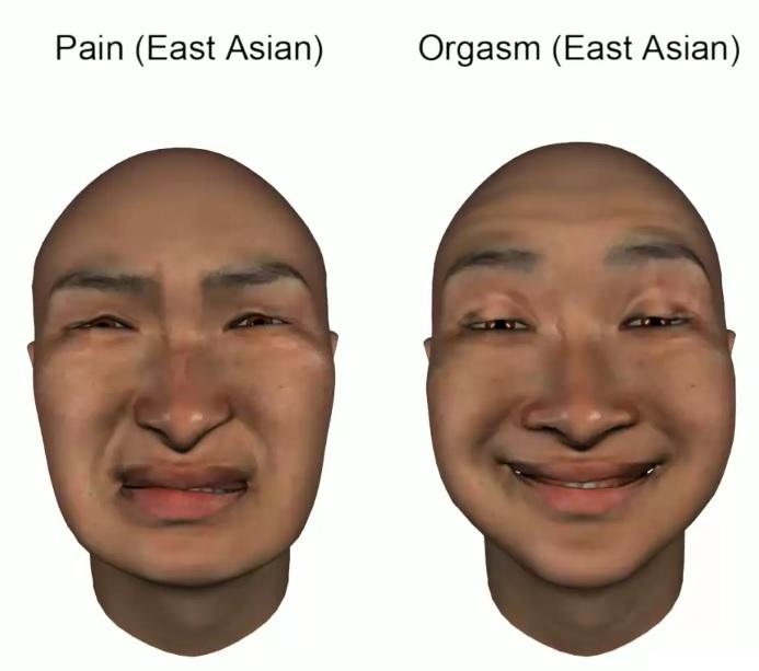 espressione dell'orgasmo