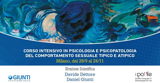 Corso intensivo in psicologia e psicopatologia del comportamento sessuale tipico e atipico MILANO