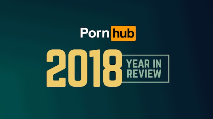 Le statistiche di Pornhub nel 2018